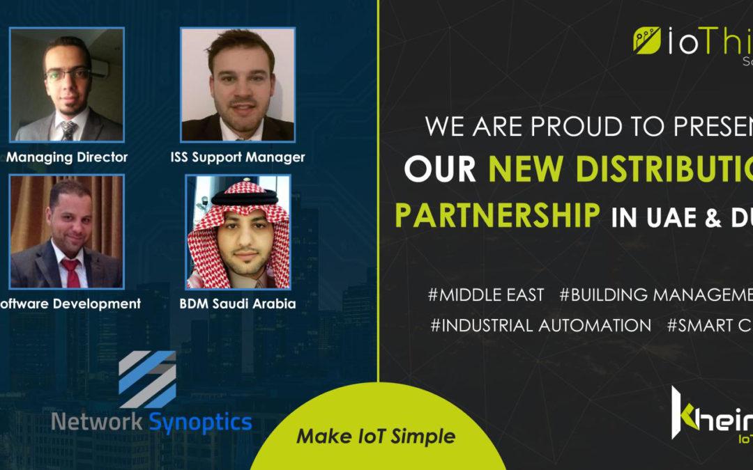 New Alliance with UAE distributor Network Synoptics